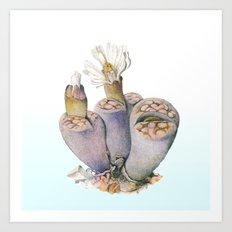 Cactus Plant #1 Art Print