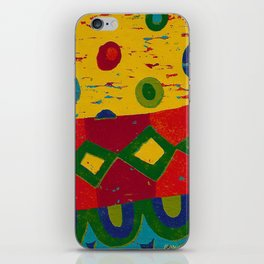 Reduction in colour iPhone Skin