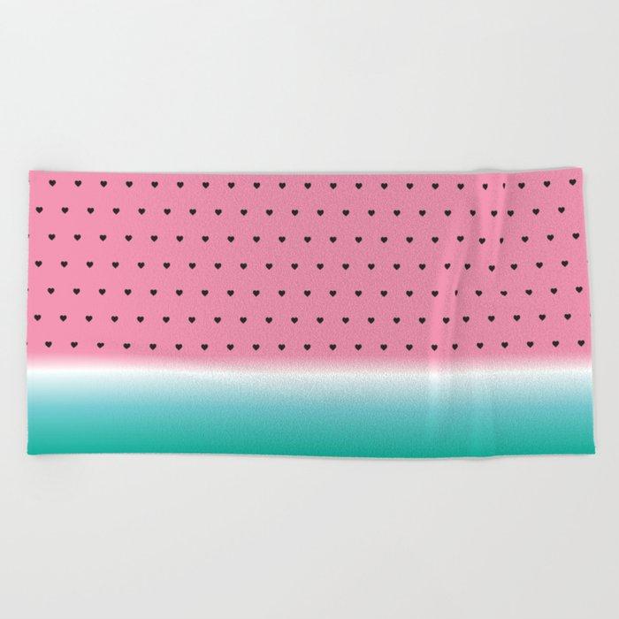 Watermelon Summer Blend  Beach Towel