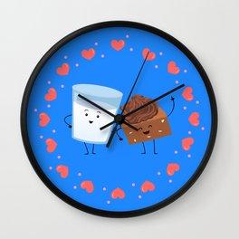 Brownie's BFF Wall Clock