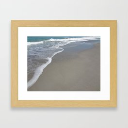 Beach Waves 4 Framed Art Print