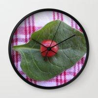 health Wall Clocks featuring Good Health by Manuel Estrela 113 Art Miami