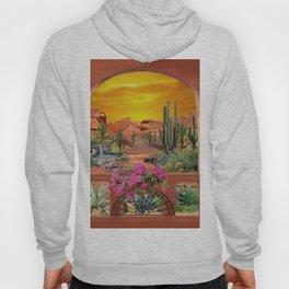 Sonoran Desert Landscape Hoody