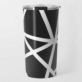 Black Earthquake Travel Mug