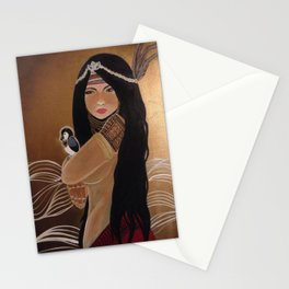 Agas: Medicine Woman Stationery Cards