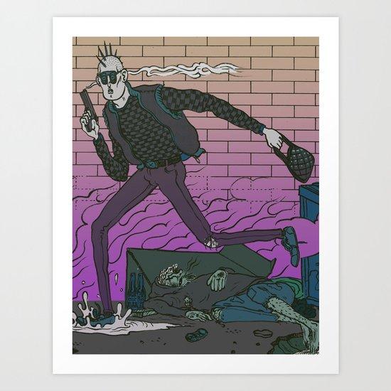 Alley Freak Art Print