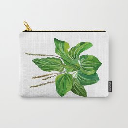 Plantago major Carry-All Pouch