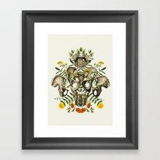Love Your Bones Framed Art Print