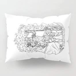 Witch of the Wilds Pillow Sham
