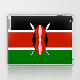 Kenyan national flag - Authentic version Laptop & iPad Skin