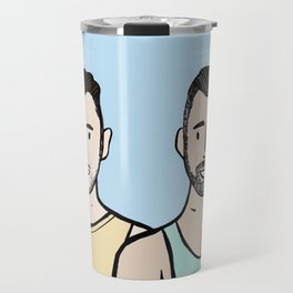 Beard Boy: Jonny & Anthony Travel Mug