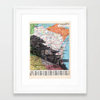 wisconsin Framed Art Prints featuring Wisconsin by Ursula Rodgers