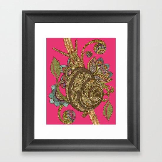Escargopolooza Framed Art Print