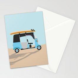 Surf Tuk Tuk in Sri Lanka Stationery Cards