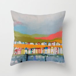les iles Throw Pillow