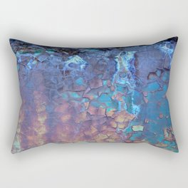 Waterfall. Rustic & crumby paint. Rectangular Pillow