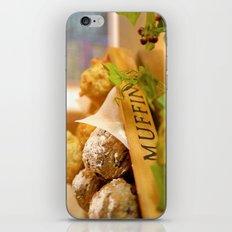 Muffins, fresh and warm, thanks Mom! iPhone & iPod Skin