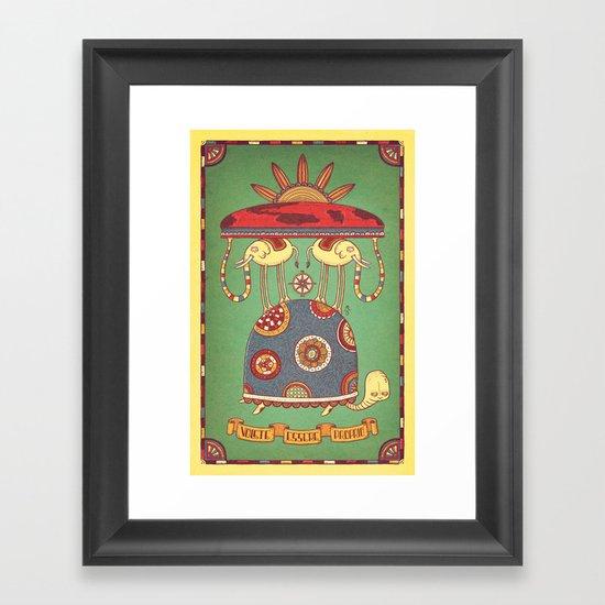 Volete Essere Proprio Framed Art Print