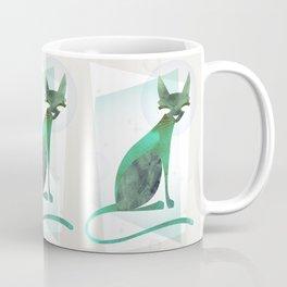 Mid-Century Feline Coffee Mug