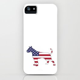 "Boxer ""American Flag"" iPhone Case"