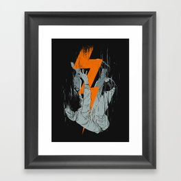 Fall Effect Framed Art Print