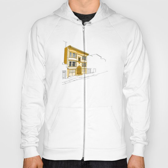 Yellow San Francisco Haus Hoody