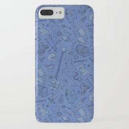 Inventory in Blue iPhone Case