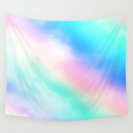 Rainbow Pastel Wall Tapestry