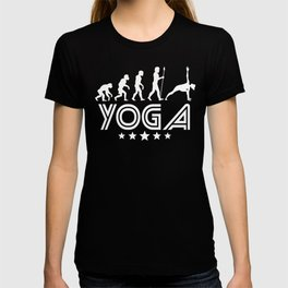 Retro Yoga Evolution T-shirt