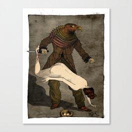 The Birdman (after Max Ernst) Canvas Print