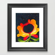 Night blossom  Framed Art Print
