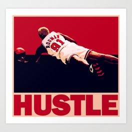 The Worm: Hustle Art Print