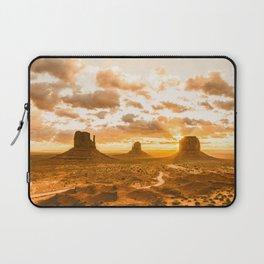 Southwest Wanderlust - Monument Valley Sunrise Nature Photography Laptop Sleeve