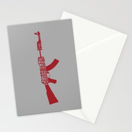 I Fear God. -Red State Stationery Cards