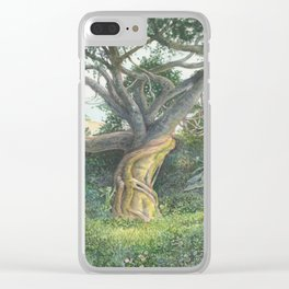 My Back Garden Clear iPhone Case