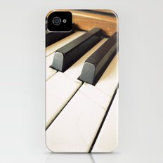 The Fractured Ivories. iPhone (4, 4s) Slim Case