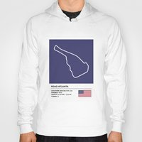 atlanta Hoodies featuring Road Atlanta by MS80 Design