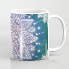 Peacock Mandala Coffee Mug