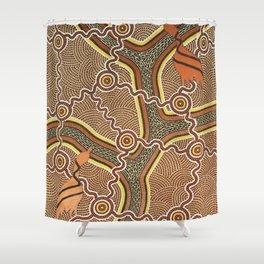Geoff-Sellman-Dancing-Brolga-1 Shower Curtain