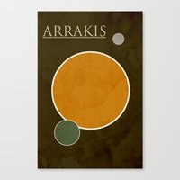 arrakis Canvas Prints featuring Arrakis by Nicholas Hyde