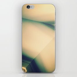 Abstractions in Cyan iPhone Skin