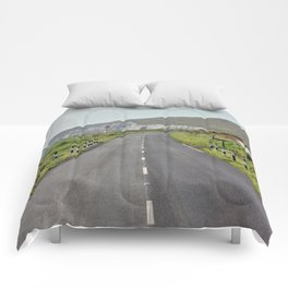 Road to the Hills Comforters