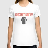 germany T-shirts featuring Go Germany! by Bunhugger Design