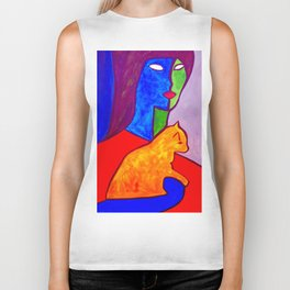 Watchful Eye #society6 #decor #buyart Biker Tank