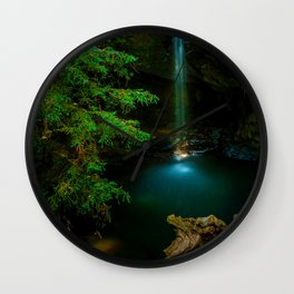 Big Basin Redwood State Park, Boulder Creek, CO Wall Clock