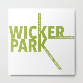 Wicker Park Metal Print