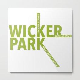 Wicker Park Metal Print