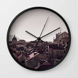 Dubrovnik from the City Walls Wall Clock