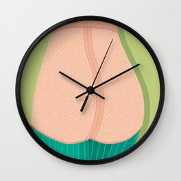 pink knickers Wall Clock