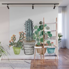 Potted Wall Mural